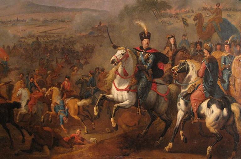 Jan Sobieski III, rei da Polônia chegou na hora certa para esmagar os turcos nas portas de Viena