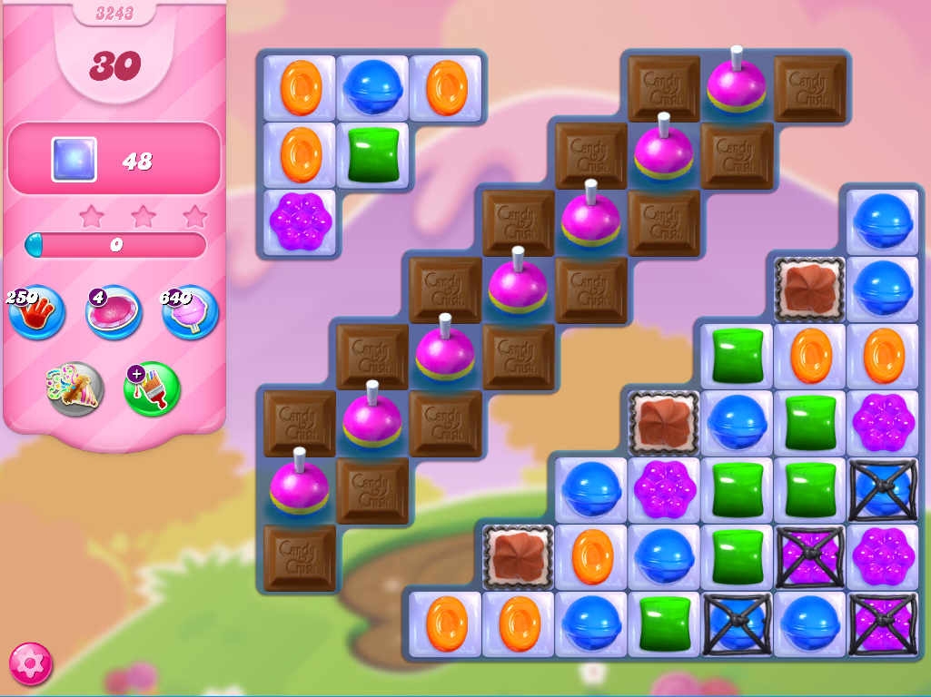 Candy Crush Saga level 3243
