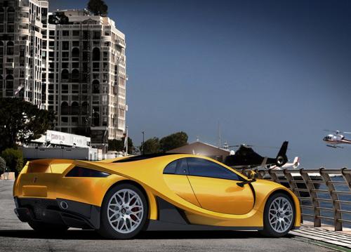 luxury sport car gta spano 2013