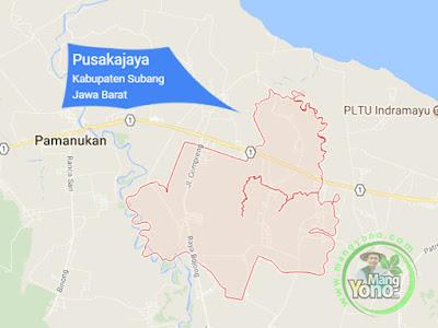 PETA : Kecamatan Pusakajaya, Kabupaten Subang, Jawa Barat