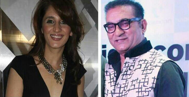 abhijeet  and Farah Ali Khan