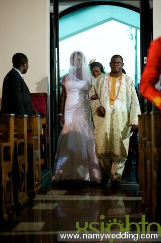 Pictures From Obiwon's Church Wedding & Reception. 5