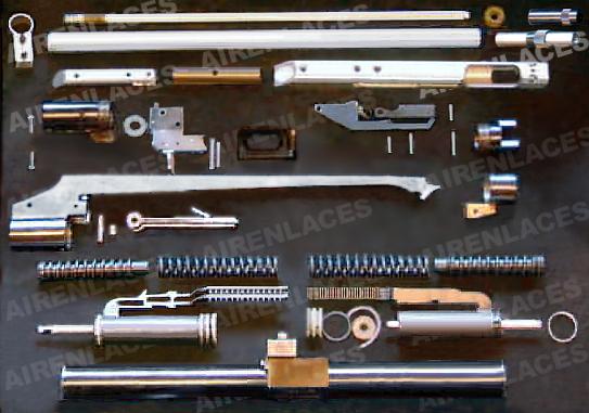 Air rifle stripdown