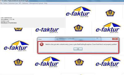 error salah passphrase sertifikat elektronik