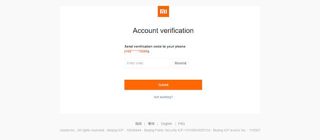 Cara Mengatasi Lupa Password Mi Cloud Pada Xiaomi Terbaru (FULL GAMBAR)