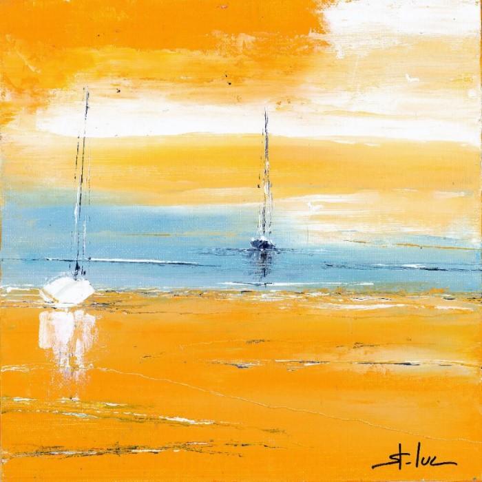 Вода и небо. Французский художник. Michel Saint Luc