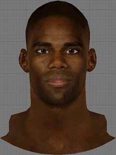 NBA 2K13 Antawn Jamison Cyberface Patch