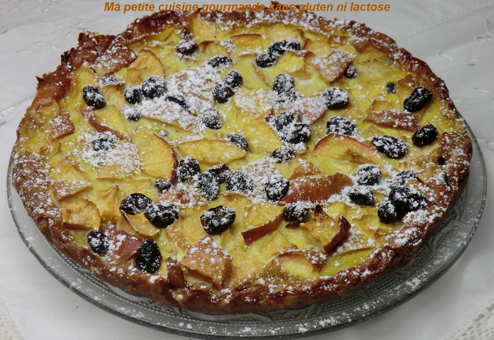ma cuisine gourmande sans gluten ni lactose tarte aux pommes et cranberries 224 la farine
