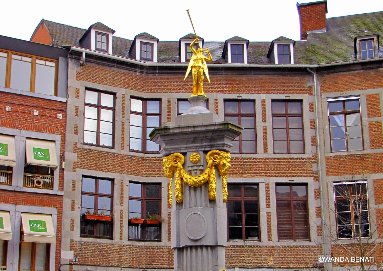 Place de l'Ange a Namur