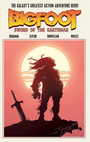 bigfoot sword of the earthman bigfoot comic comic books graphic novel action lab comics barbarian comics