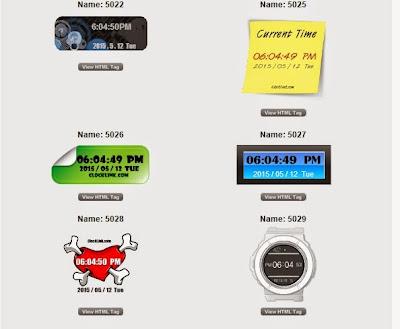 Cara Memasang Widget Jam, Cara Memasang Widget Jam, Di Blog , Memasang Widget Jam, Skip Ads™