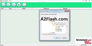 Cara Flash Firmware Lenovo A6010 Via QualcommDownloader