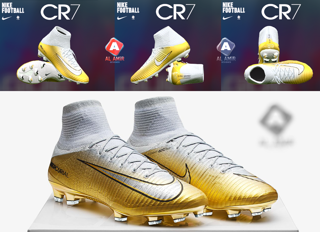 rojo vitamina Revolucionario  PES 2017 Nike Mercurial CR7 Quinto Triunfo Boot by AL AMiR Bootmaker ~  SoccerFandom.com | Free PES Patch and FIFA Updates