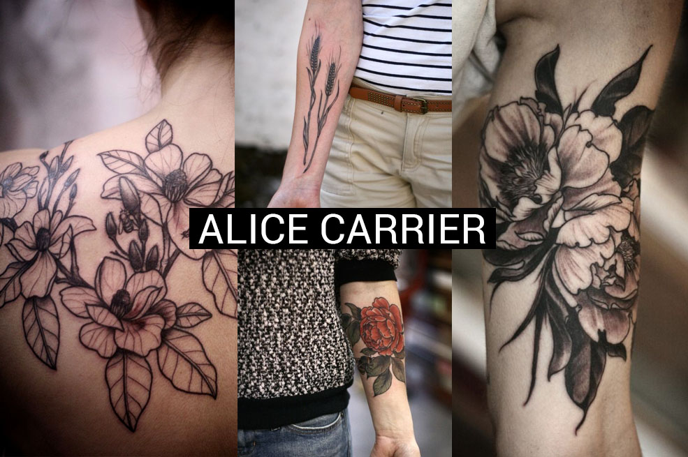 Alice Carrier Is A Tattoo Artist At Wonderland Tattoo In: FAVOURITE TATTOO ARTISTS