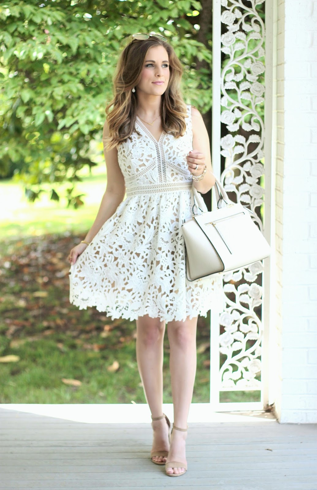 The Little White Lace Dress {Only $65!}
