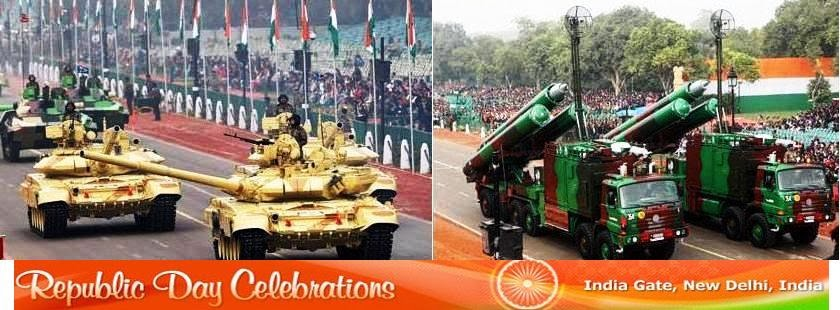 Republic Day Celebrations on 26 January