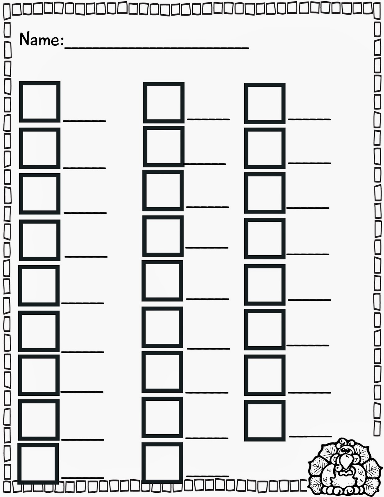Upper And Lowercase Letter Sheet