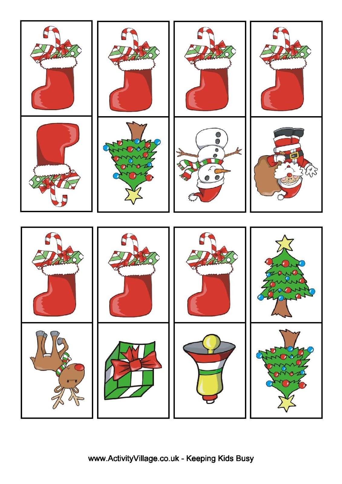 Jogo Educativo Domino De Natal