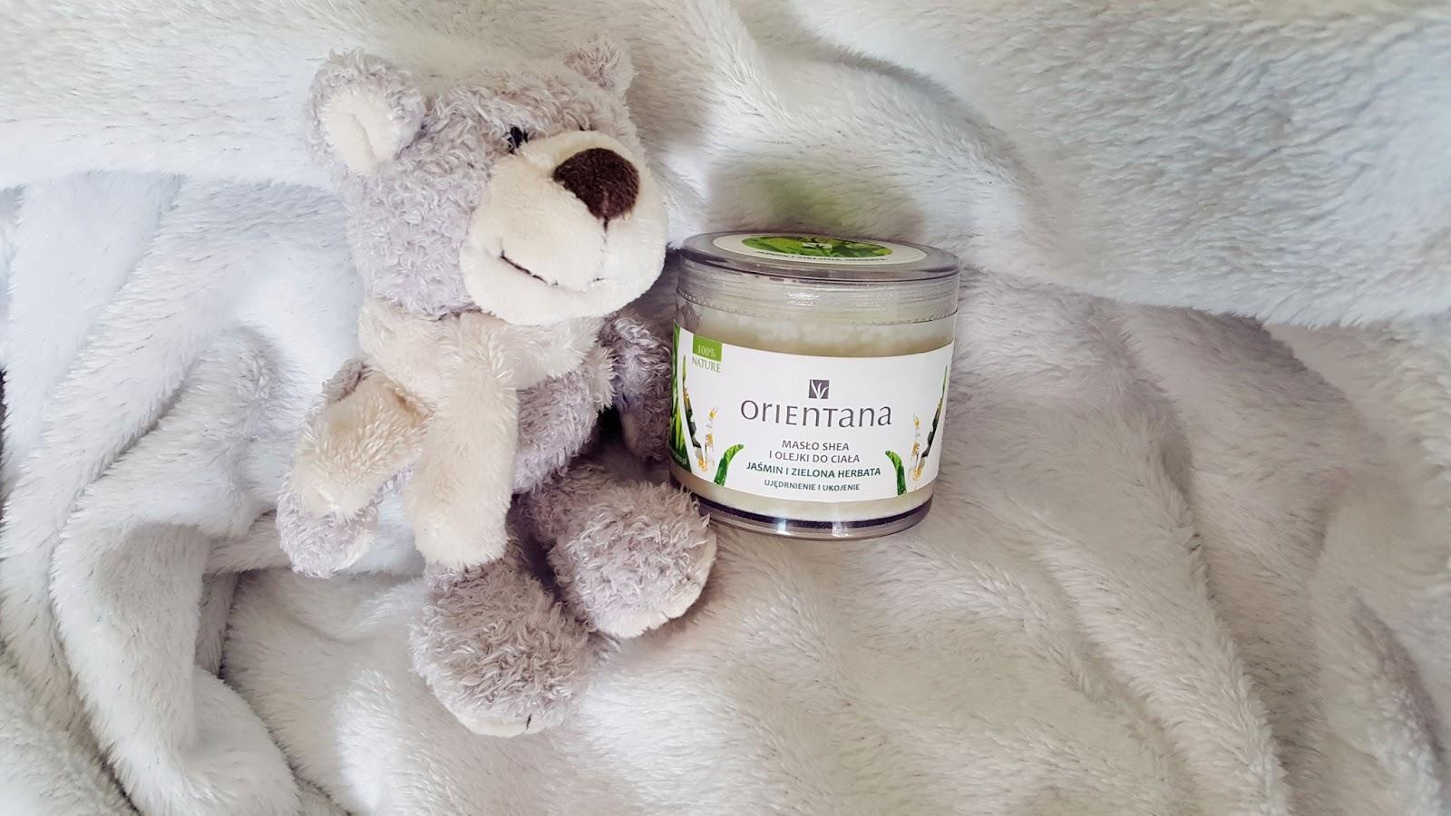 Kolejna przygoda z Orientana- Maslo Shea, Jasmin i Zielona Herbata