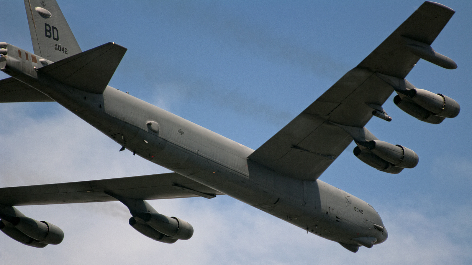 B-52, bomber (Boeing B-52): description, specifications, weapons 74
