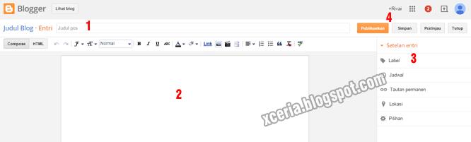 Cara Membuat Artikel - Post Editor