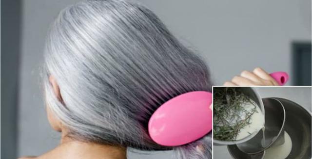 Resultado de imagen para ¿Tienes el cabello con canas? Aquí esta la solución para recuperar el color natural de tu cabello