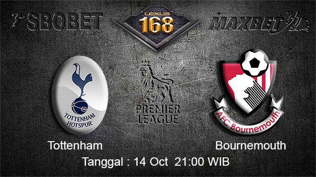PREDIKSIBOLA - PREDIKSI TARUHAN BOLA Tottenham Hotspur vs Bournemouth  14 OCTOBER 2017 (EPL)