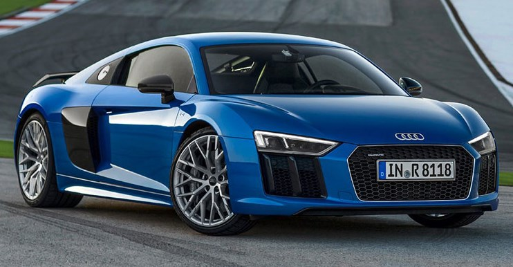 2018 Peeping Body The V8 From The First R8 Is Currently Gone