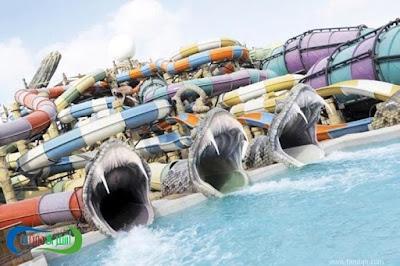 اسعار تذاكر أكوافنتشر الحديقة المائية في دبي Aquaventure 2018