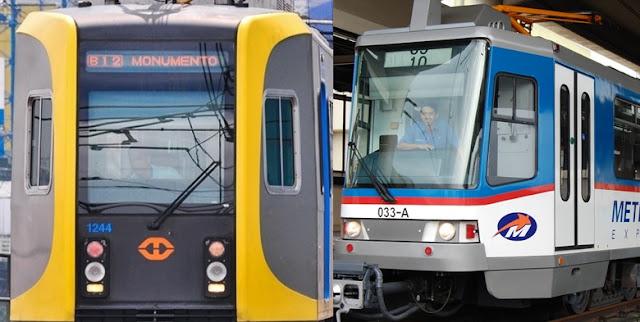 Images of LRT, MRT