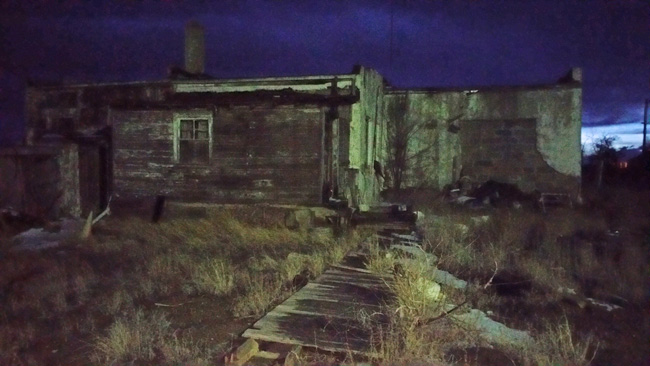 Urban Exploration in abandoned Model, Colorado ghost town
