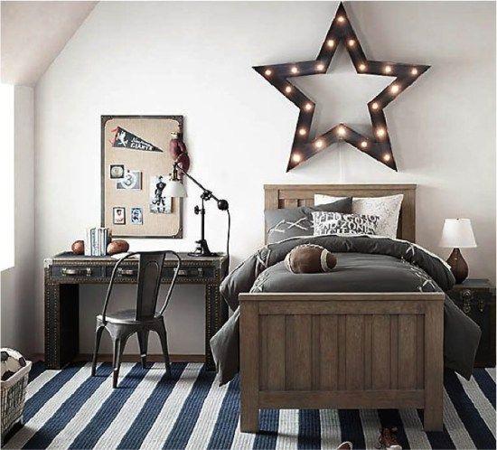 12 dormitorios juveniles para varones m s chicos for Dormitorios juveniles para varones