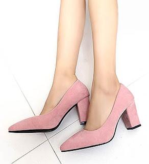 pointed-toe-high-heels-gaya-korea-terbaru
