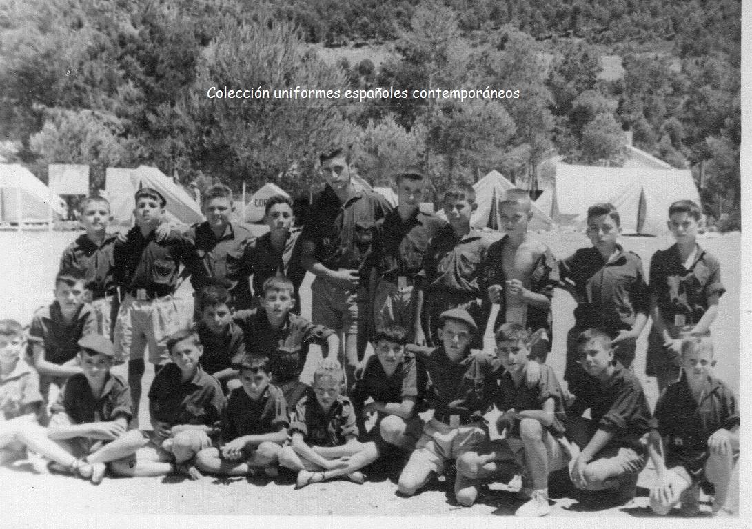 Uniformes Españoles Contemporáneos Del Ejército Español O J E Organización Juvenil Española 1960 1981