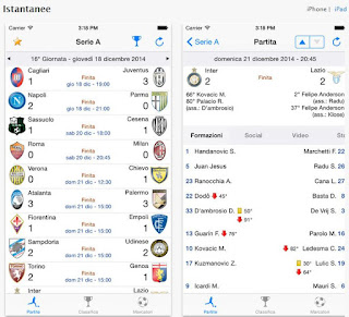 app calcio iphone android