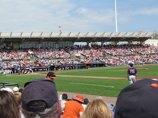 First pitch, Red Sox vs. Orioles