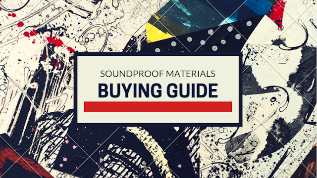 Buying cheap soundproofing materials