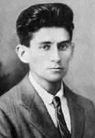 Franz Kafka as a young man
