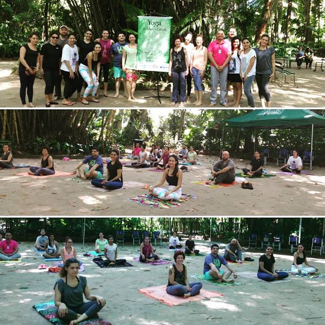 public yoga in brazil