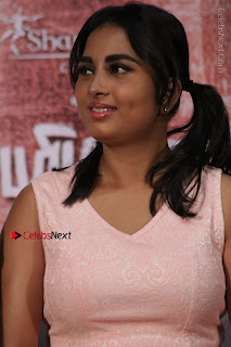 Actress Srushti Dange Stills in Short Dress at Mupparimanam Press Meet  0006.jpg