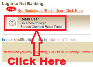 how to reset transaction password in bank of baroda online