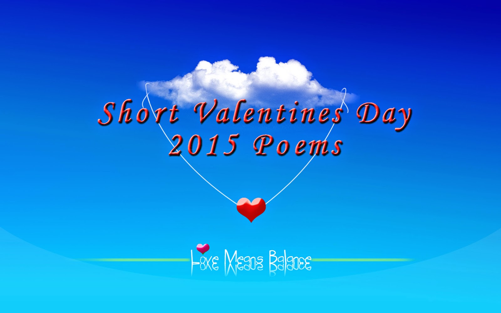 Short Valentines Day 2015 Poems