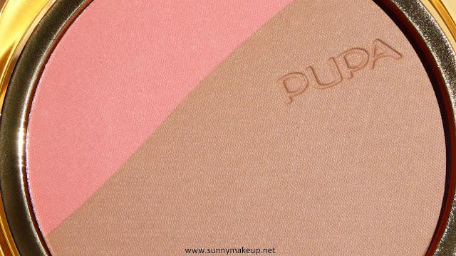 Pupa - Blush & Bronze. Blush & Terra Compatti nella colorazione 001 – Pink Sand.