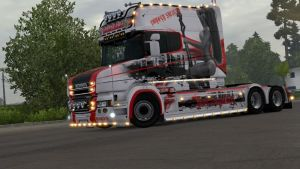 Lovely Swirls skin for Scania T