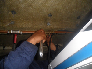 Repair solenoid valve which supplies two units of the front wipers