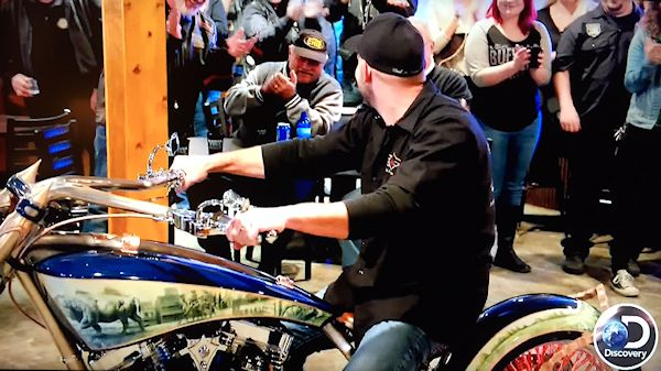 At The Very End Of Sneak K American Chopper Which Aired March 1 2018 They Showed Some Clips What Is To Come When Series Returns