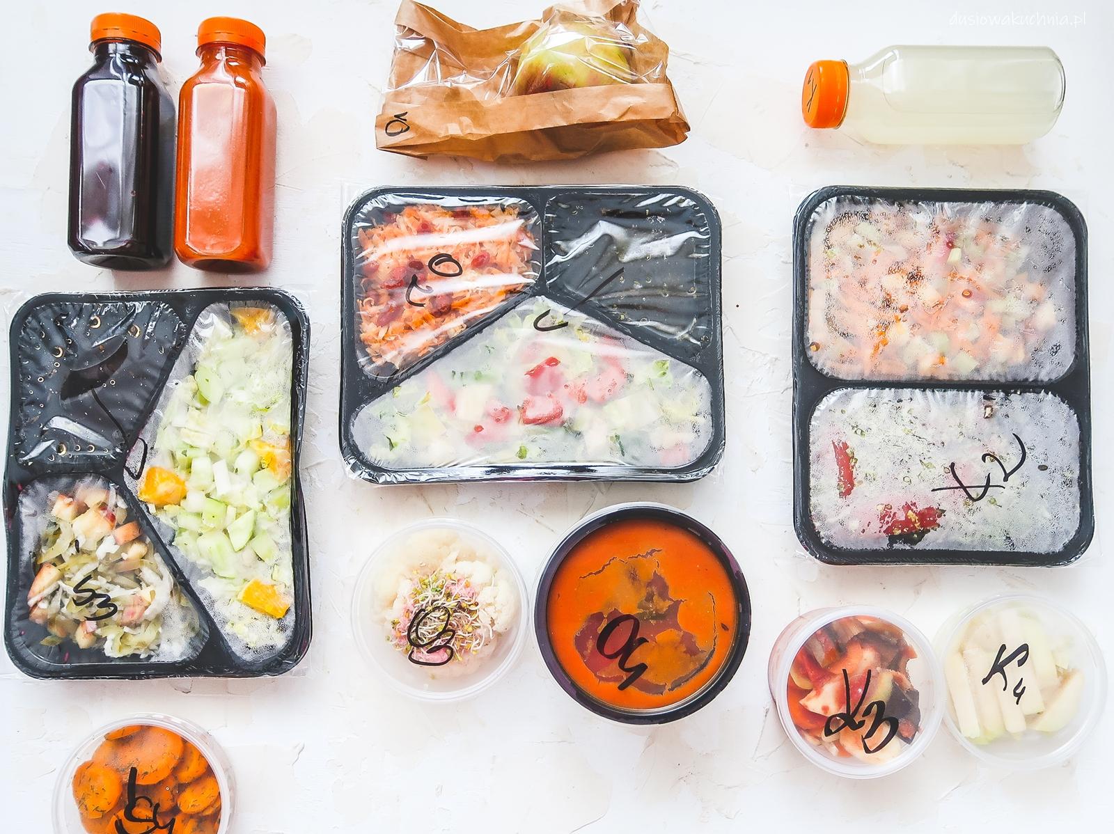 Dieta warzywno-owocowa - catering Zielono Mi TEST