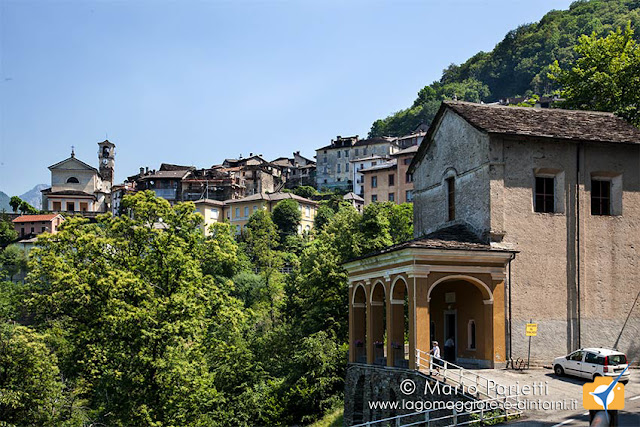 Curiglia con Monteviasco e il santuario del Tronchedo
