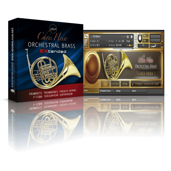 Chris Hein - Orchestral Brass EXtended KONTAKT Library
