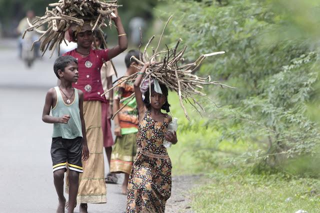 enfants route tamil nadu